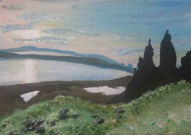 Old man of Storr Isle of Skye -