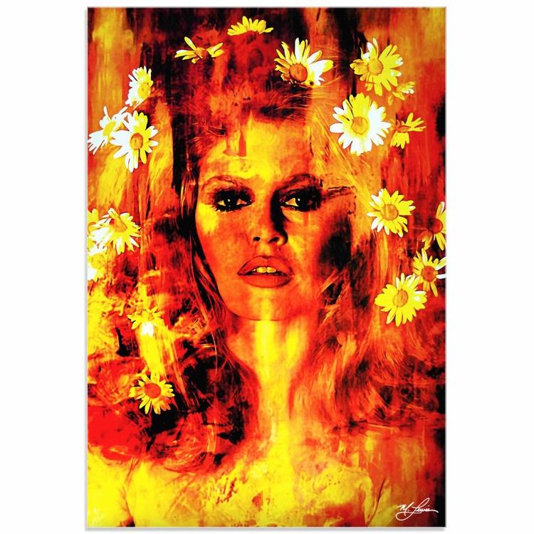 Mark Lewis 'Bridget Bardot Life Captured' Limited Edition Pop Art Print on Acrylic - Image 0