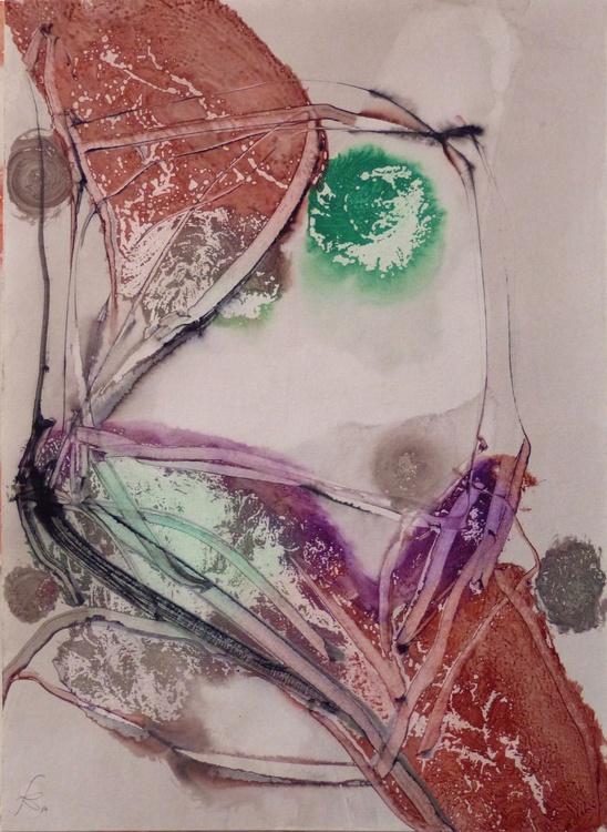 Prolegomena, Acrylic on paper #25 29x42 cm - Image 0