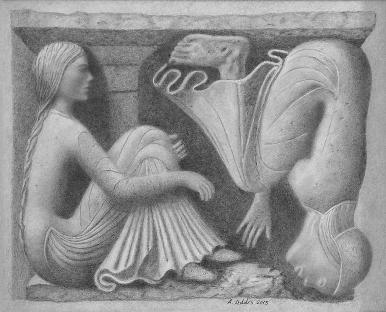 "Metope ""Antipodes"" 03 - Image 0"