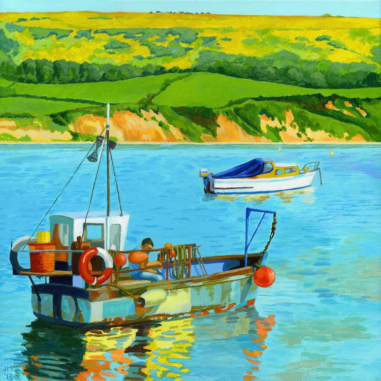 Fishing Boat in Swanage Bay - Image 0