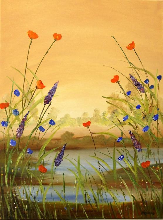 Wild flower pond - Image 0