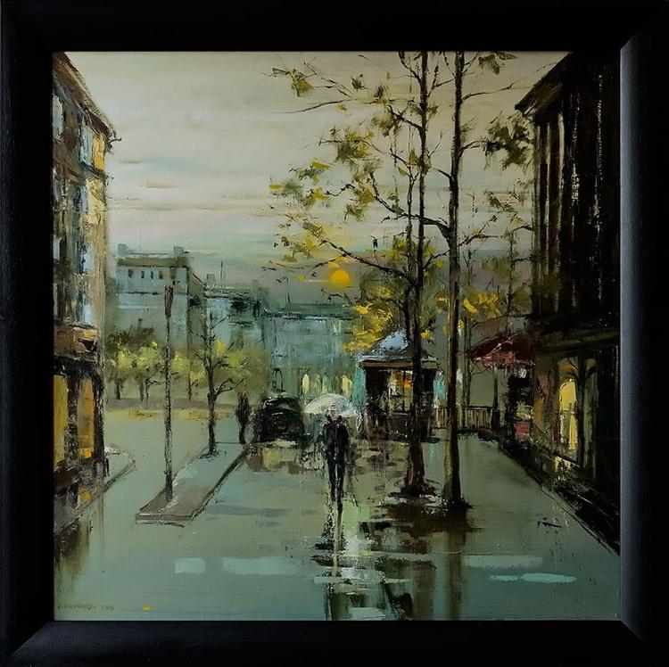 'Rainy day in Paris' - Image 0