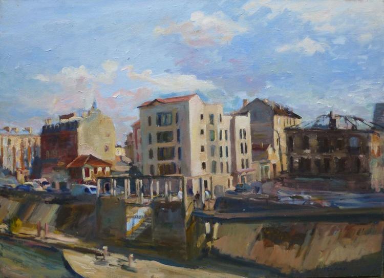 Le quai de la Marne,Alfortville - Image 0