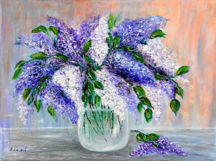 Lilac bouquet.. - Image 0