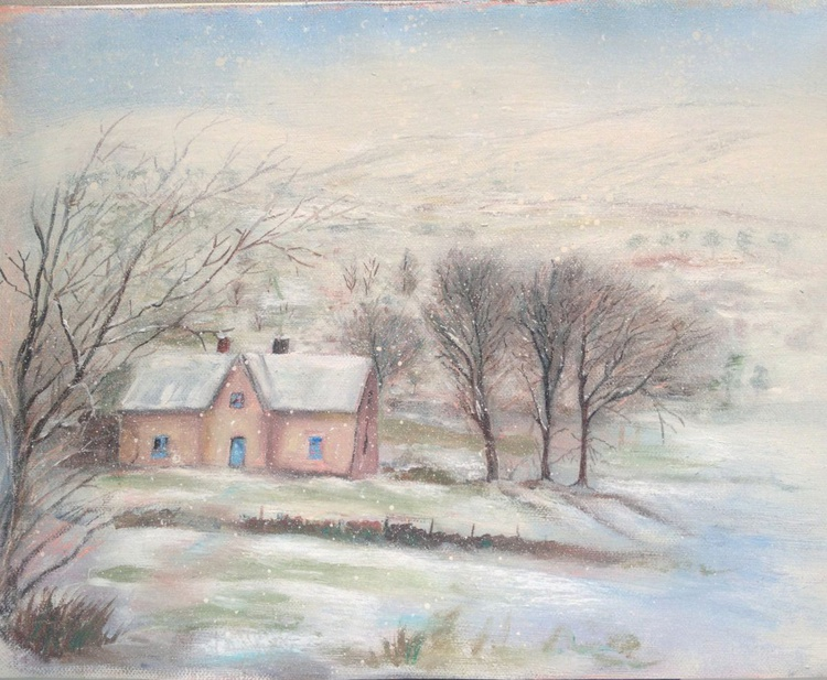 Winter wicklow cottage. - Image 0