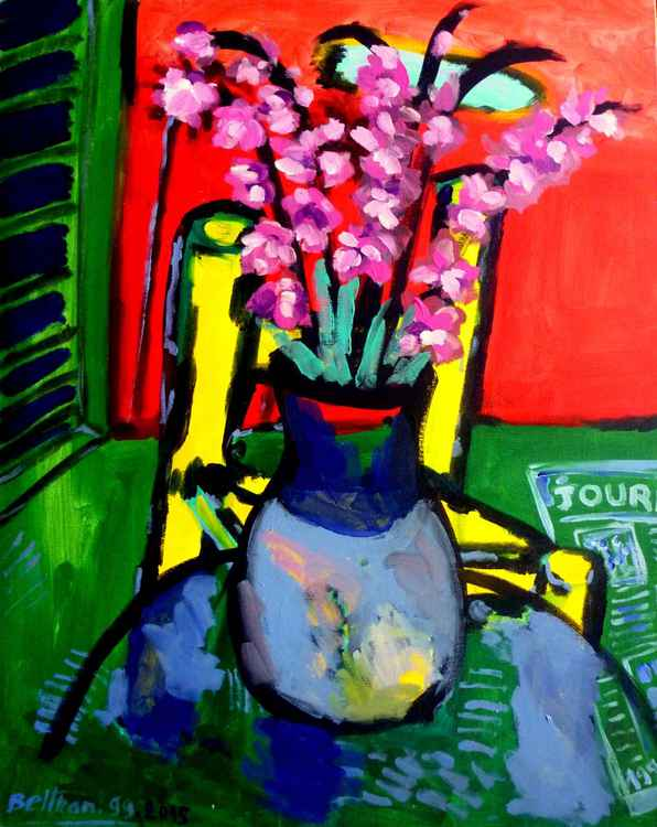 Le vase aux glaieuls -