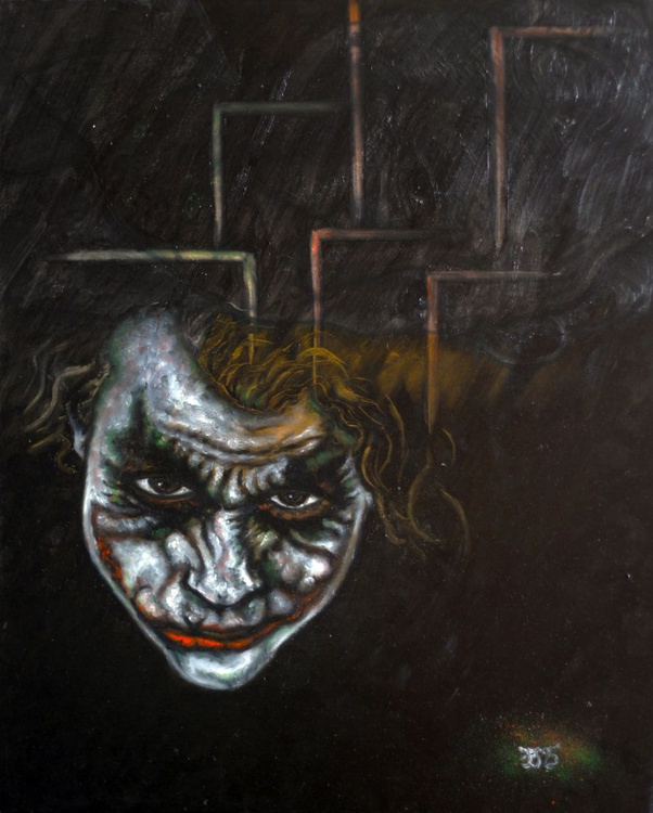 """The Joker"" - Recently Released From The Artist's Private Collection - Image 0"