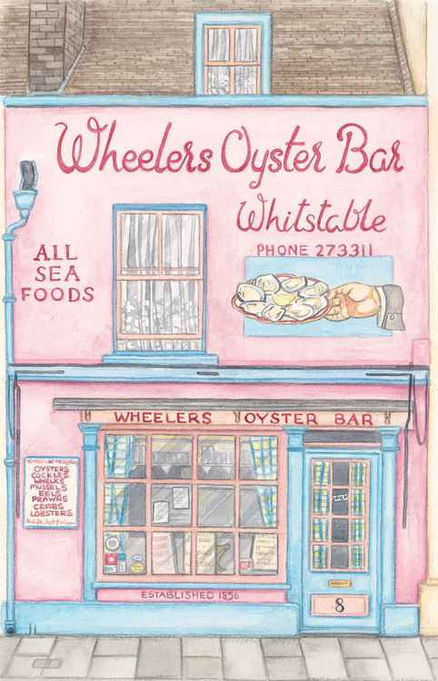 Wheelers Oyster Bar, Whitstable. -