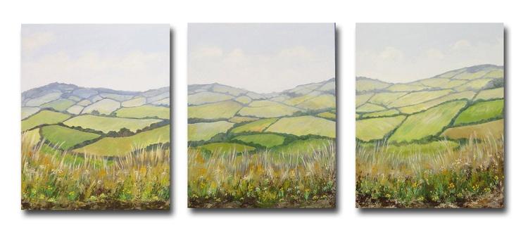 Springtime Triptych - Image 0
