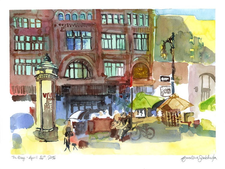 The Bay Urban Sketch April 2016 - Image 0