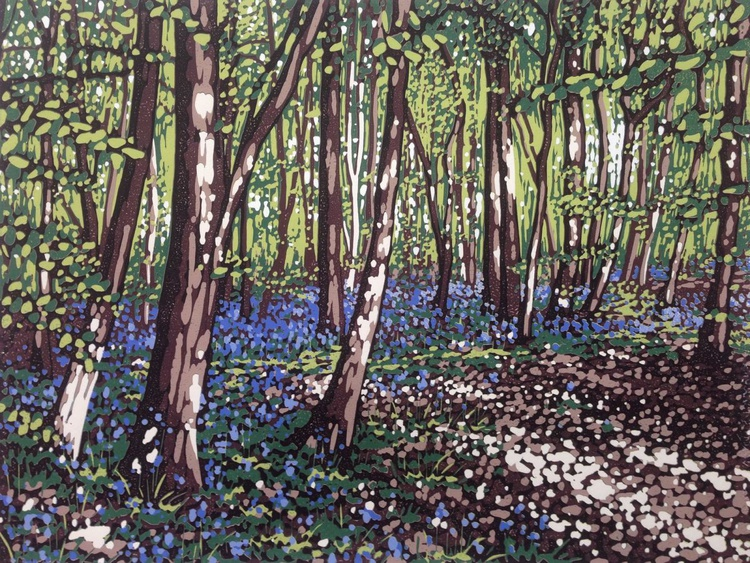 Bluebells and Sunlight - Image 0