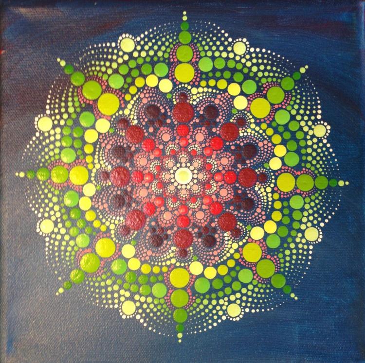 Sugar Mandala Miniature canvas - Image 0