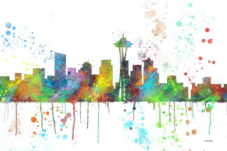 Seattle Skyline MCLR1 -
