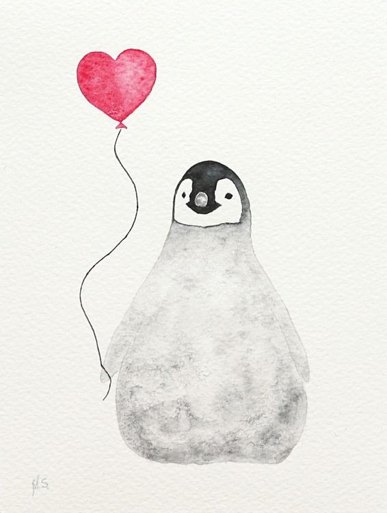 The emperor penguin chick XVIII - Image 0