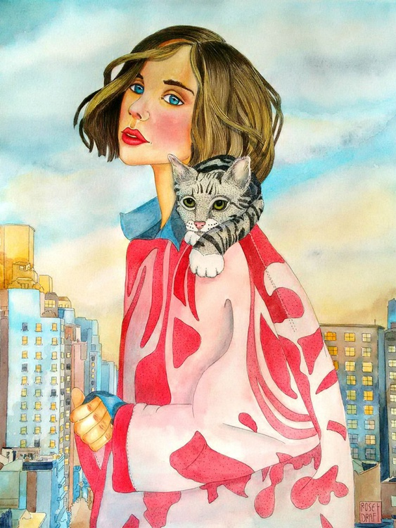 New York kitty - Image 0