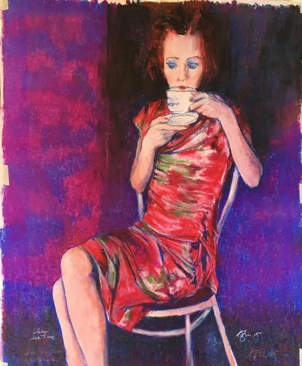 Lilac Tea Time - Image 0