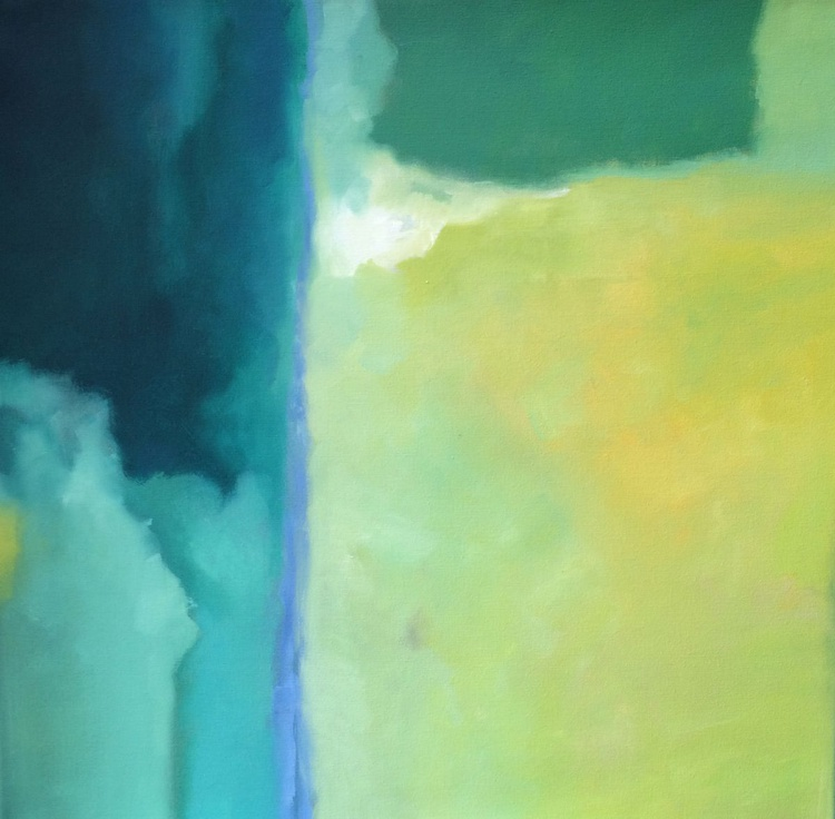 WATERFALL II (COMMISSIONED PAINTING) - Image 0