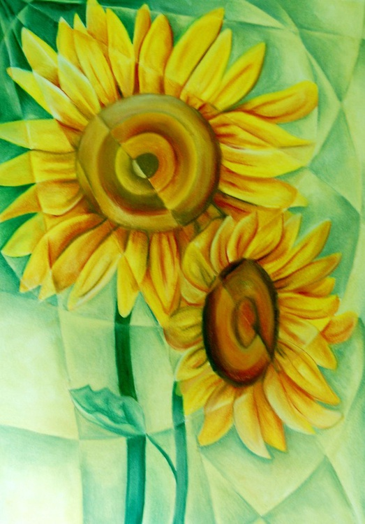 Fractured Sunflowers - Image 0