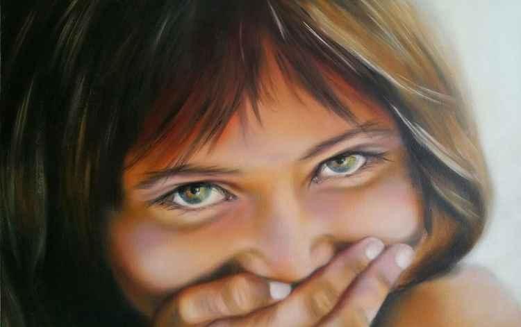 A Shy Smile -