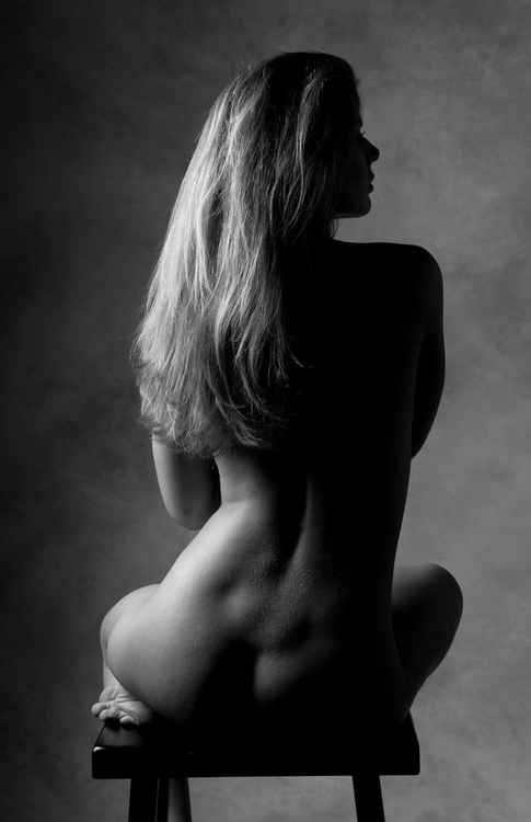 Untitled Studio Nude #1091 -