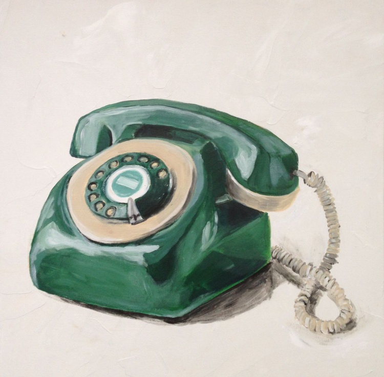 Vintage Phone No. I - Image 0