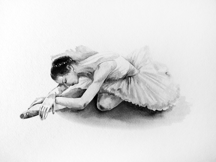 Ballerina at Rest - Image 0
