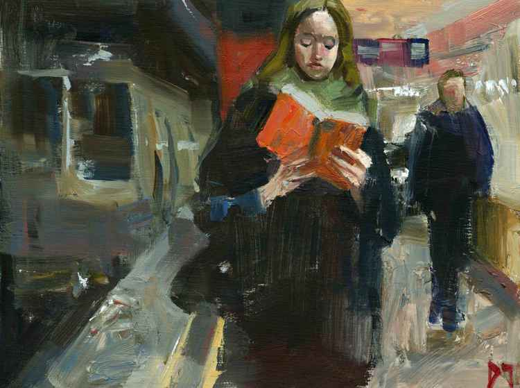 Orange Book Subway -