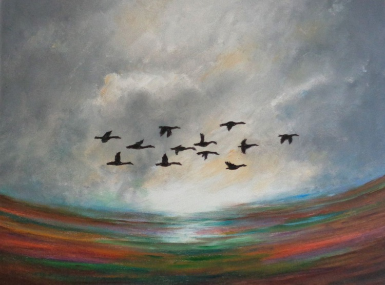Migrating Geese - Image 0