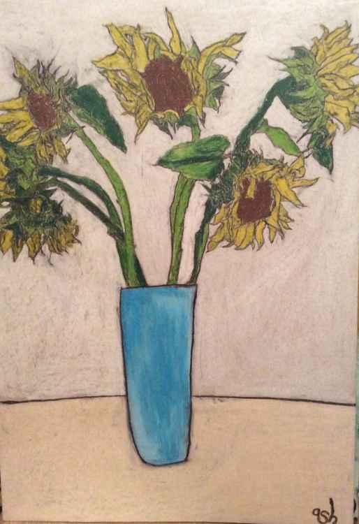8 sunflowers