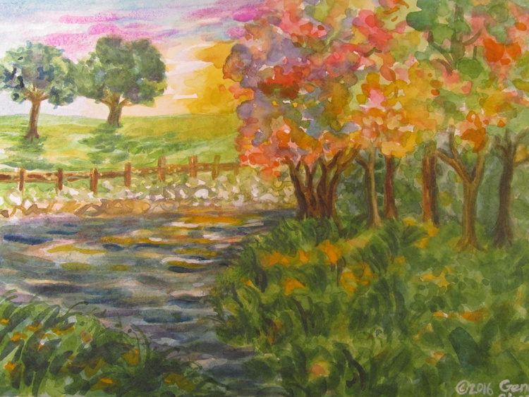 Sunset in the Park - Image 0