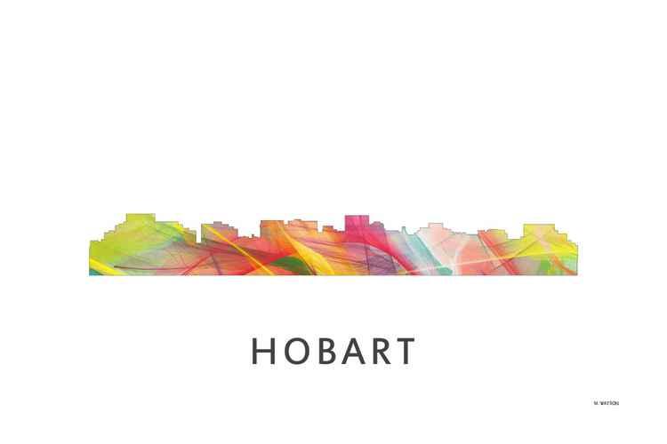 Hobart Tasmania Australia Skyline WB1 -