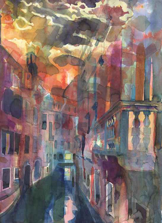 Venetian Sunset -