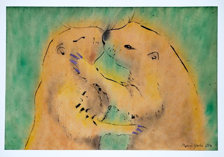 Disguised as a Prairie Dog I kiss the Whole Existence through you - Image 0