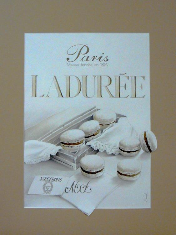 """""""Ladurée"""" macaroons - Image 0"""