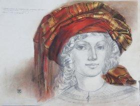 The lady in turban by Vladimir Verejnikov