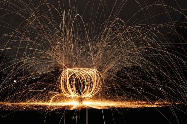Steel Wool Photography
