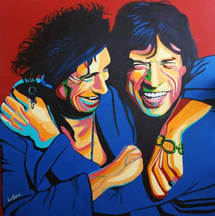 Keith and Mick -