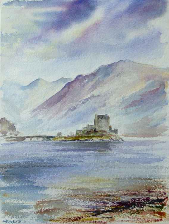 Misty Light Eilean Donan Castle -