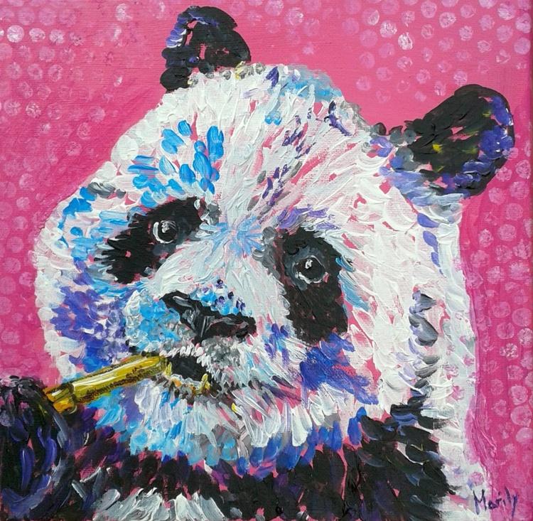 """""""Pinkish panda"""" - Image 0"""