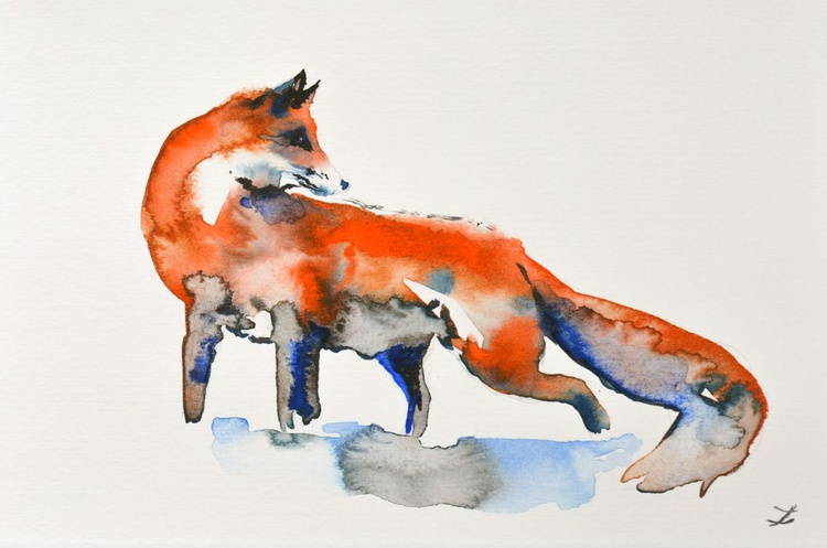 Curious Fox - Image 0