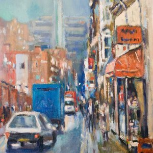 Kensington Church Street (south end) by Andre Pallat
