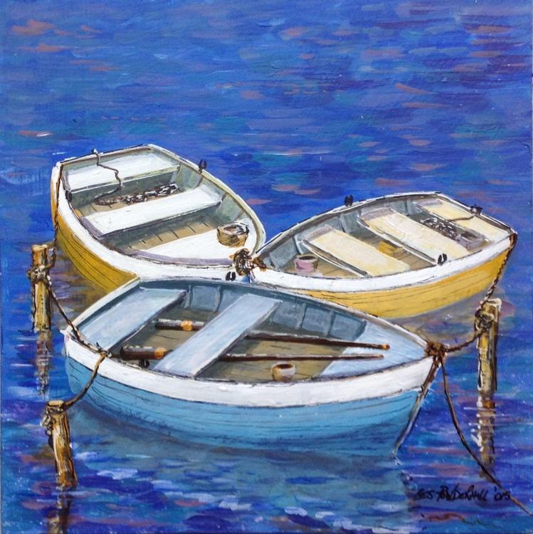 3 boats a waiting - Image 0
