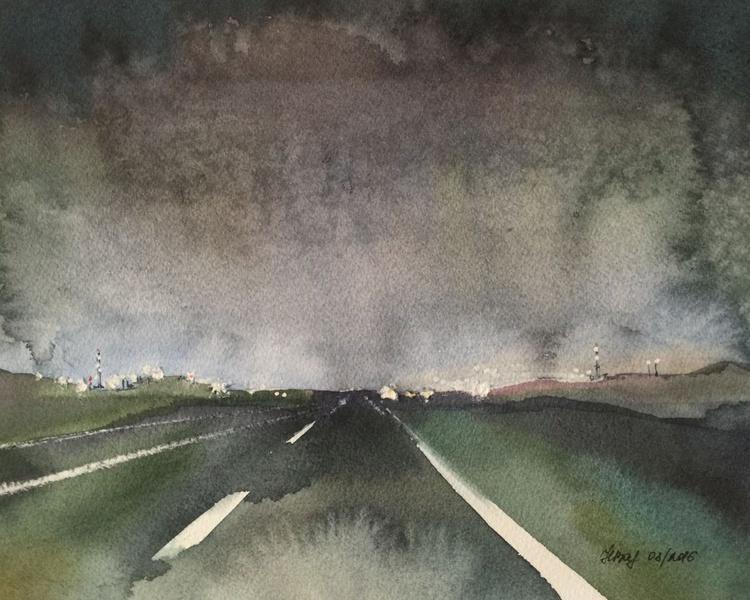 Night road - Image 0
