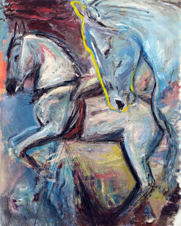 horses ( 42 x 34 in) - Image 0