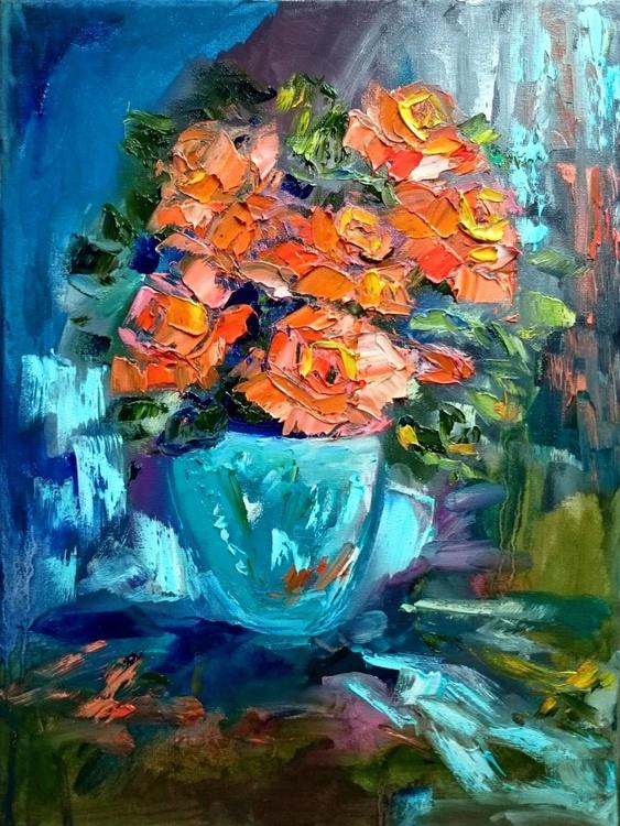 Orange roses - Image 0
