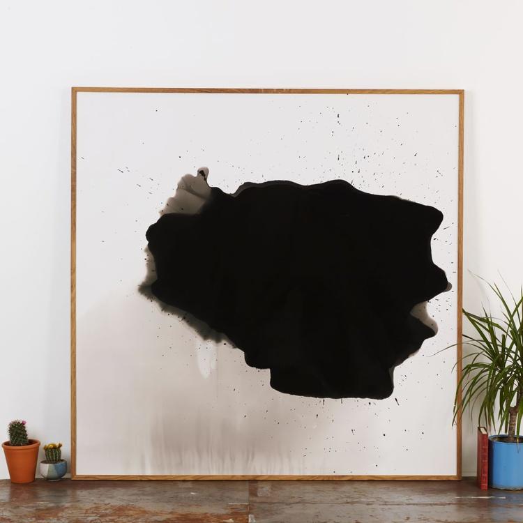 "Original ""Cloudy"" Abstract Darkroom Print - Image 0"