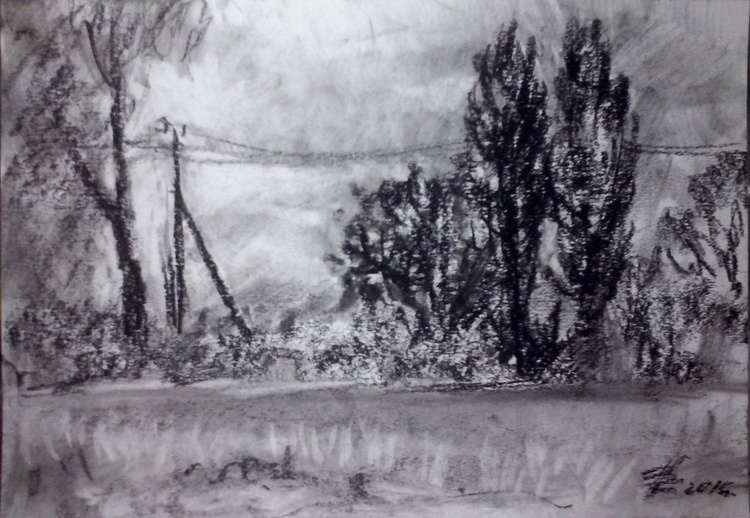 Along the road (sketch) - Image 0