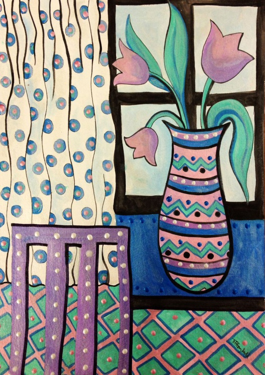 The vase by the window - Image 0