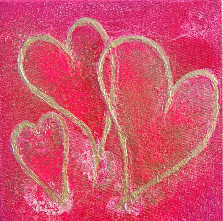 A trio of hearts 2 - Image 0